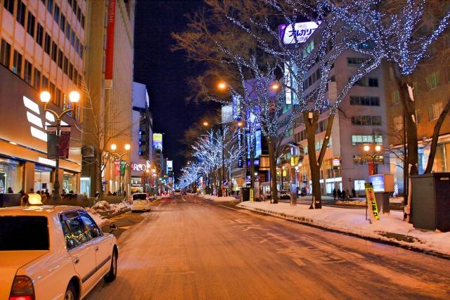 札幌のタクシー料金はいくら?札幌大通から各地の料金を計算してみた!